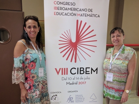 Univates participates in international congress of Mathematical Education