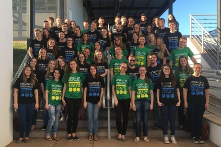 Univates brings together exchange students of 2018A