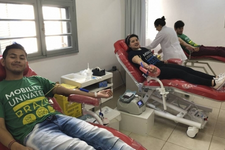 International Relations Office promotes blood donation campaign