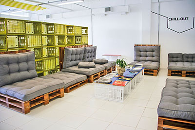 Lounge do Tecnovates