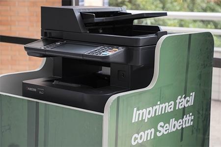 Campus terá novo modelo de impressão