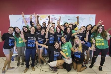 Dez novas nacionalidades pelo campus
